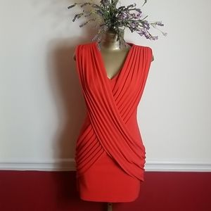 C. LUCE CORAL MINI DRESS